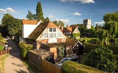 #Goring village in the #Berkshire #Chilterns