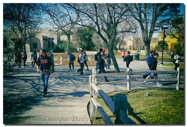 A Bustling UNM Campus