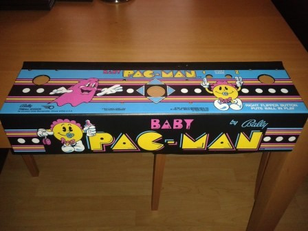 Baby Pacman Artwork Pain