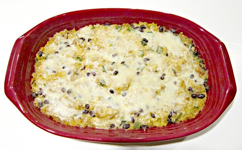 Southwest Turkey Spaghetti Squash Casserole