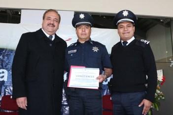 Reconocimiento a Policía Municipal