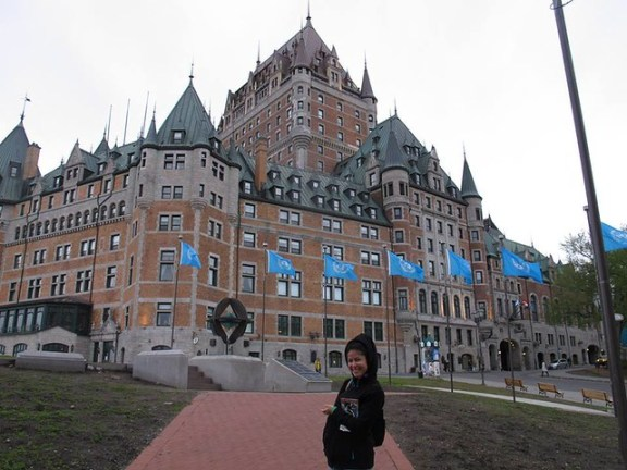 Château Frontenac, Quebec City Couchsurfing