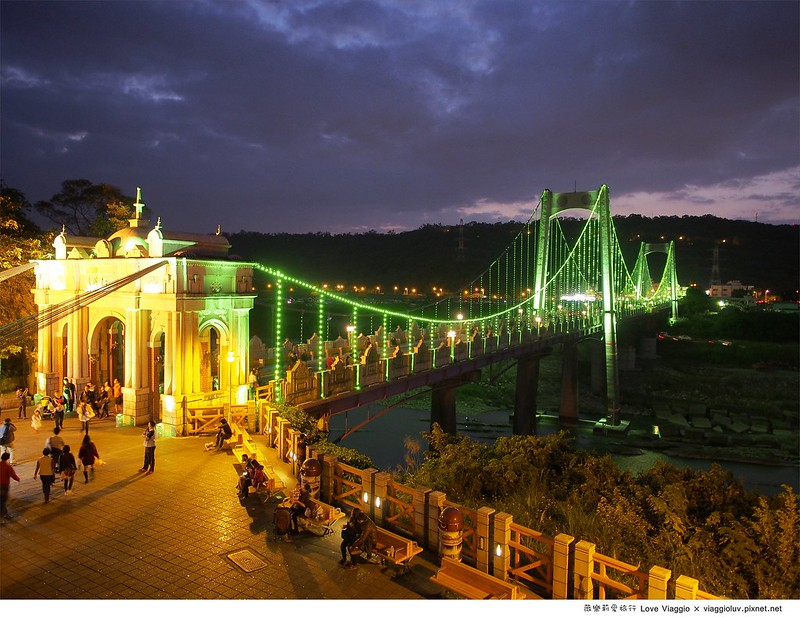 大溪橋夜景,大溪老街,桃園景點,老街 @薇樂莉 Love Viaggio | 旅行.生活.攝影