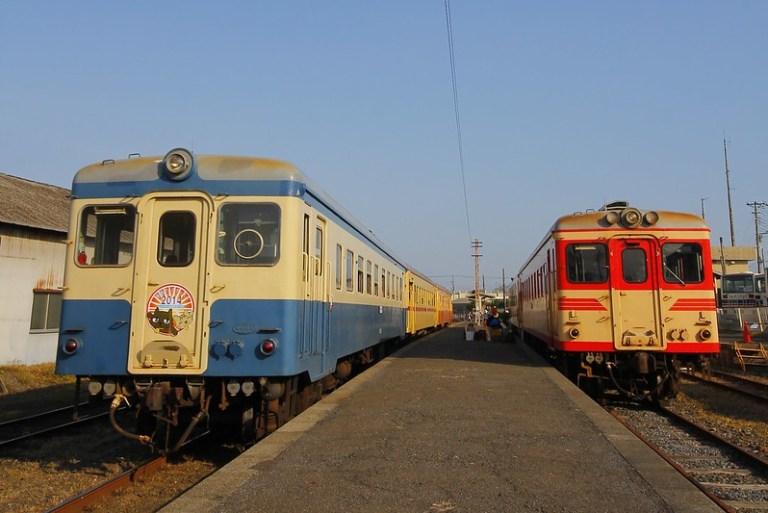 Hitachinaka Seaside Railway DC kiha 2005 & kiha 222+kiha 2004+kiha 205