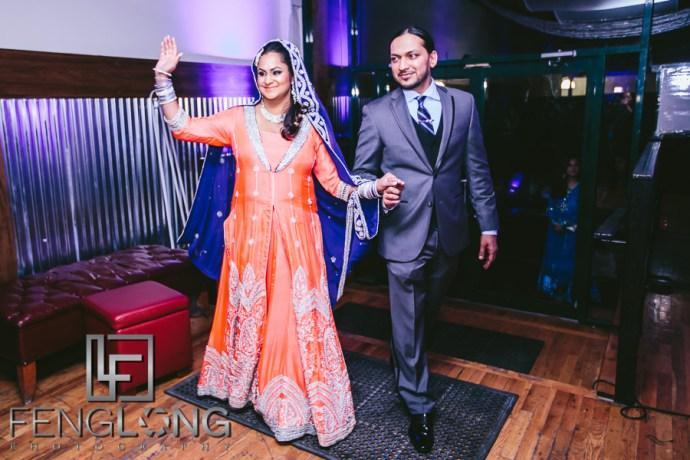 New York City Muslim Hindu Fusion Wedding | The Brooklyn Spot DUMBO Valima