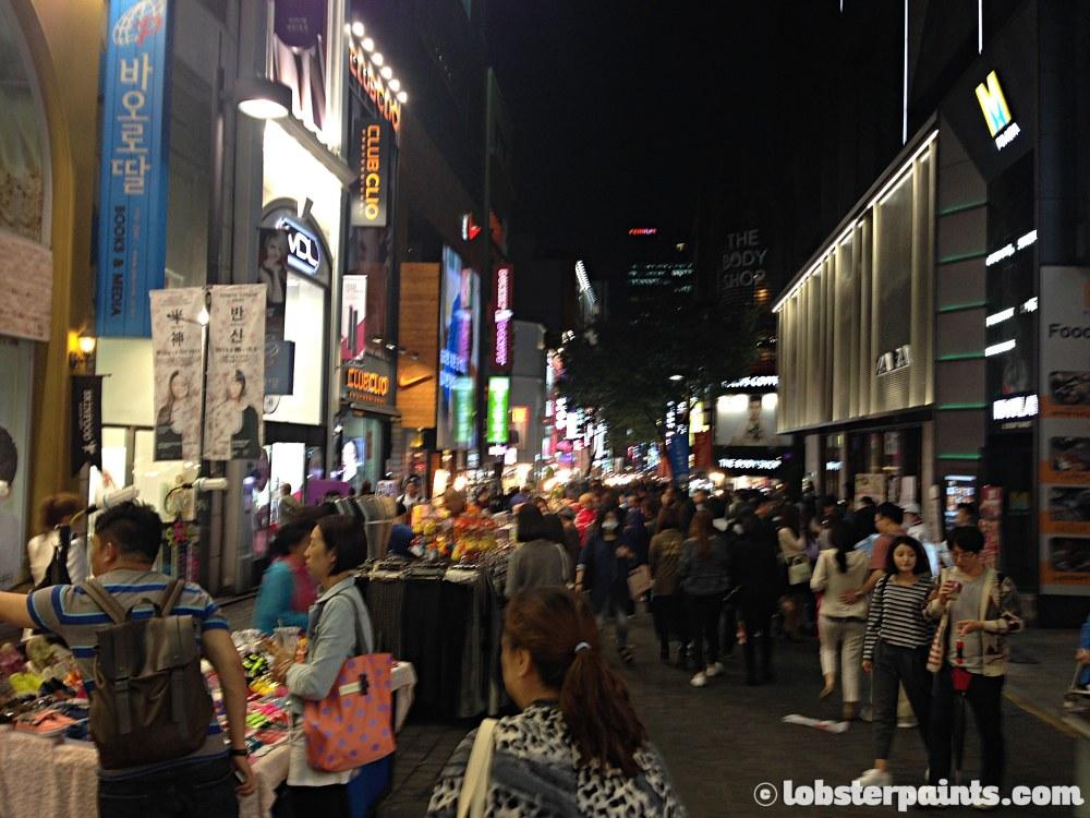 29 Sep 2014: Myeongdong Shopping District | Seoul, South Korea