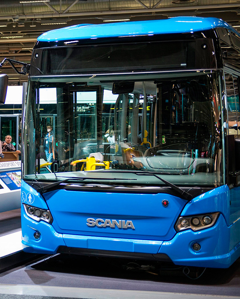 Scania Citywide Low Entry Hybryd
