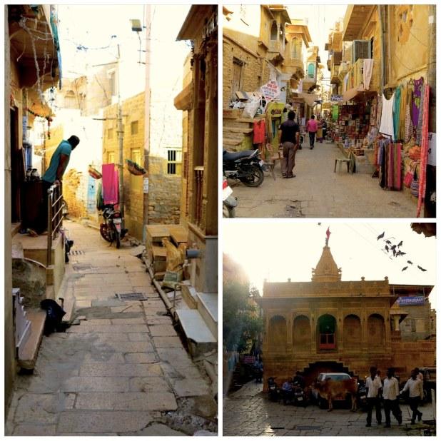 Interior fuerte Jaisalmer