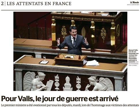 15a15 LMonde Valls ante Asamblea Nacional