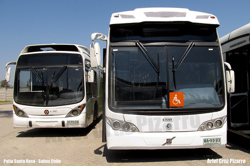 Buses Articulados Transantiago