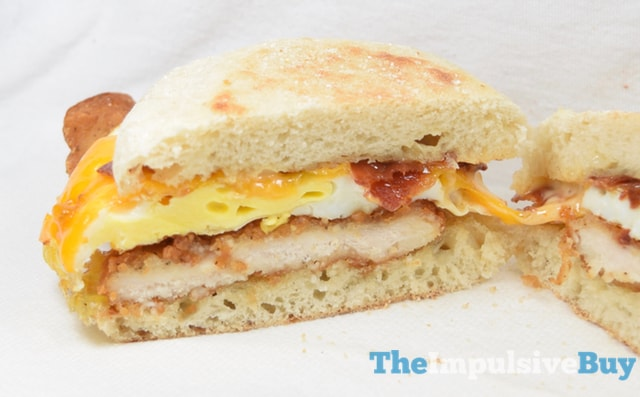 Jack in the Box Brunchfast Bacon & Egg Chicken Sandwich 2