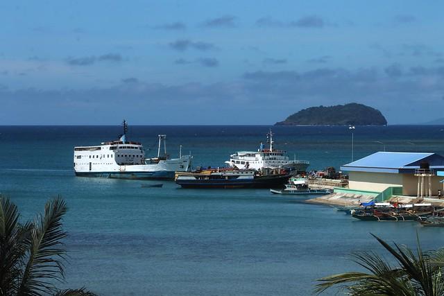 Cuyo Port & Bararin Island
