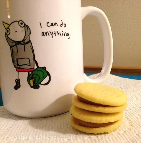 Trader Joe's Cookie Butter Sandwich Cookies Mug