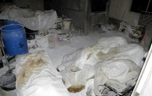 Los cuerpos de 61 personas fueron encontrados en un crematorio abandonado en Acapulco. Foto Ap