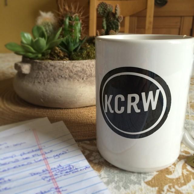 KCRW Mug Morning