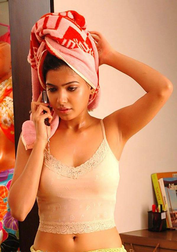 Samantha Ruth Prabhu in Towel