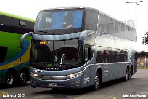Ciktur - La Serena (Chile) - Marcopolo Paradiso 1800 DD G7 / Volvo (FHZD25)