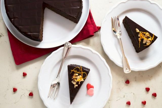 Flourless Chocolate Hazelnut Torte