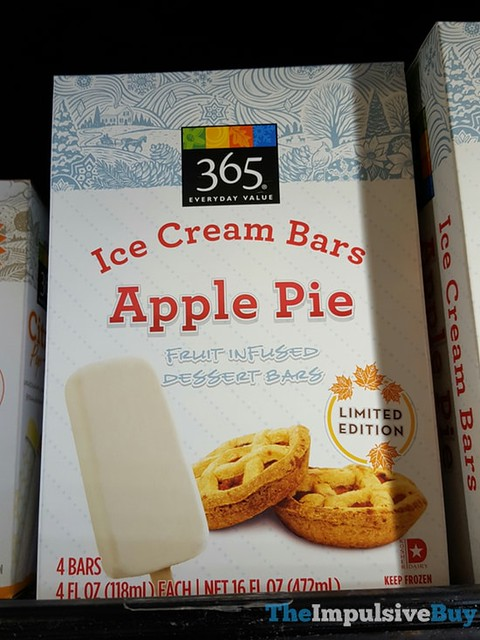 365 Limited Edition Apple Pie Ice Cream Bars