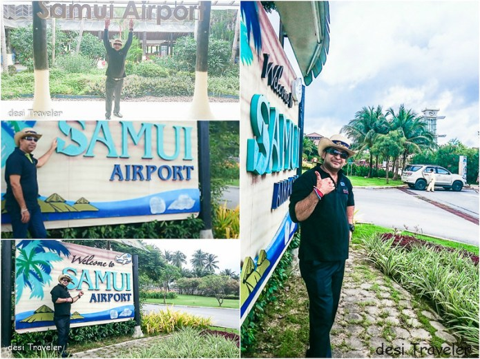 Pictures clicked at Samui Airport Thailand