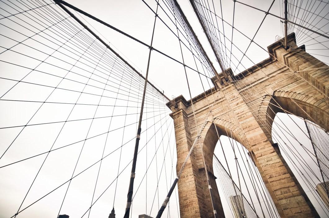 Imagen gratis del puente de Brooklyn