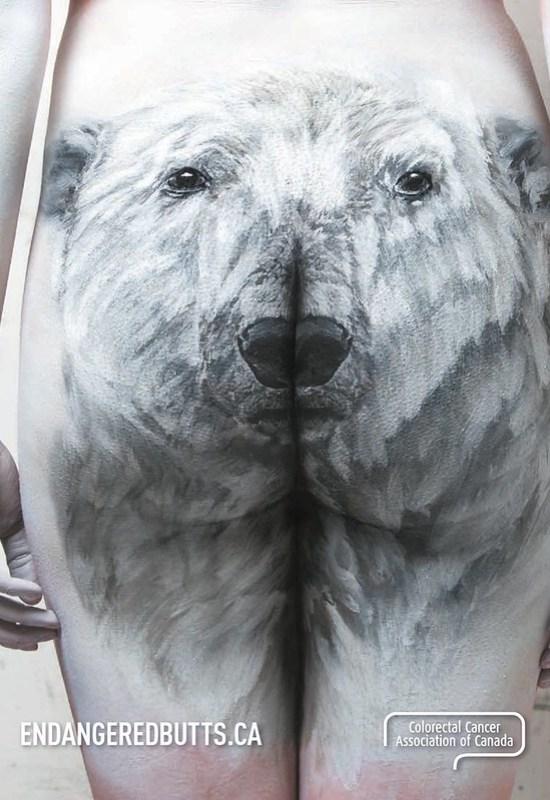Colorectal Cancer Association of Canada - Polar Bear