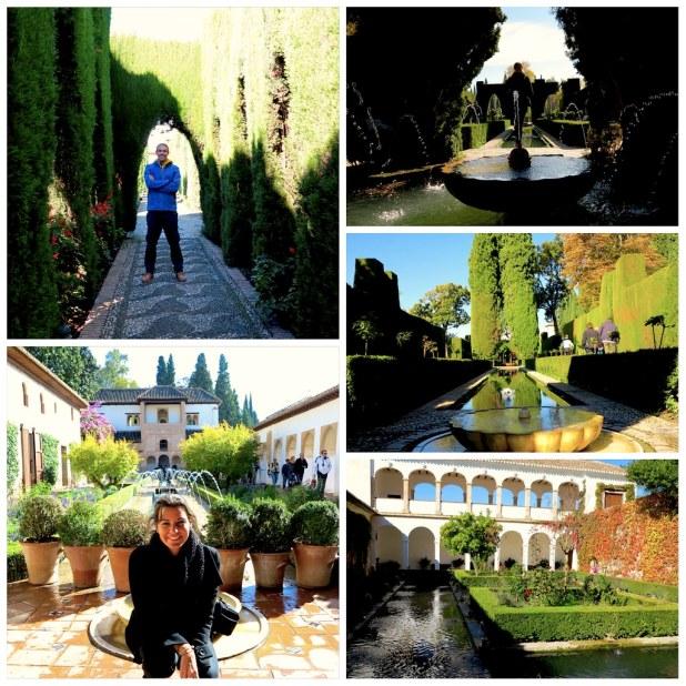 Generalife, la Alhambra de Granada