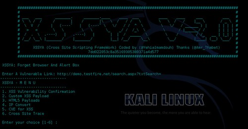 XSSYA v2.0 Released - XSS Vulnerability Confirmation Tool