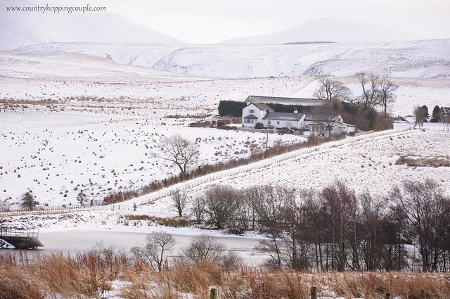 Edinburgh Snow Pentland Hills