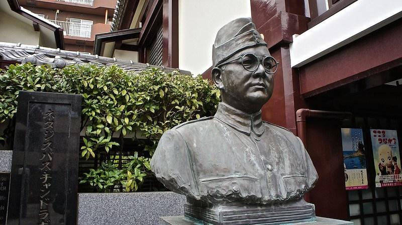 Netaji Subash Chandra Bose at Renkoji