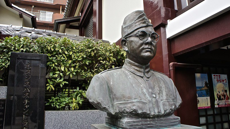 Netaji Subash Chandra Bose at Renkoji