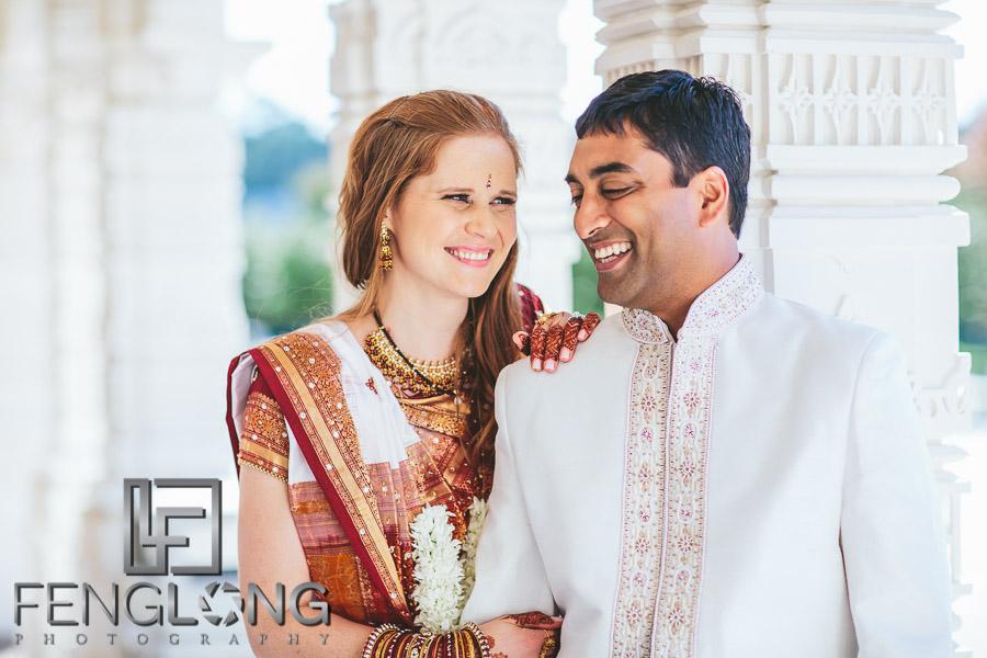 Jill & Suprit | Atlanta Hindu American Fusion Wedding | BAPS Shri Swaminarayan Mandir