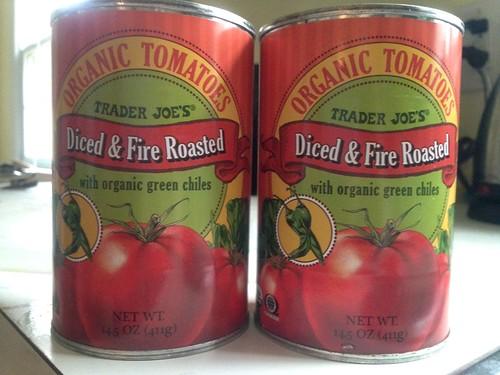 my favorite tomatoes for Glenn's chili
