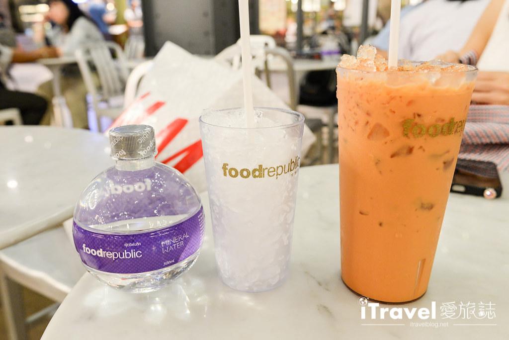 《曼谷美食餐厅》Food Republic大食代:Siam Center美食街
