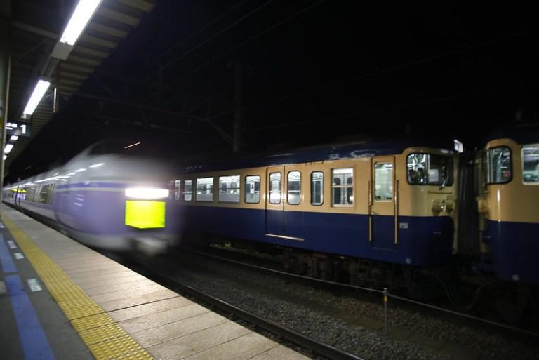 Series 115 Type 300 & Series E351 at Kobuchizawa