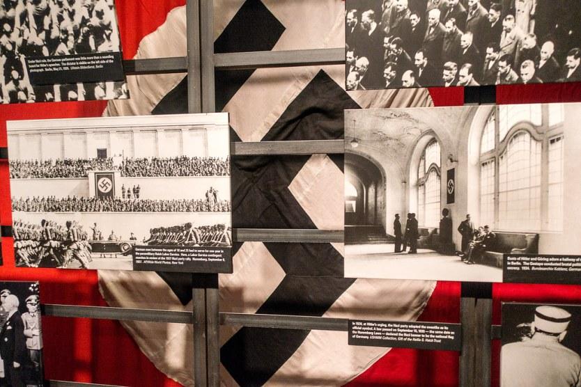 Nazi photographic display, Permanent Exhibition