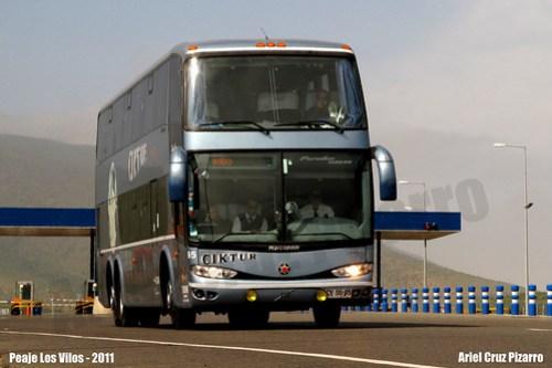 Ciktur - Los Vilos (Chile) - Marcopolo Paradiso 1800 DD / Volvo (CVSG95)
