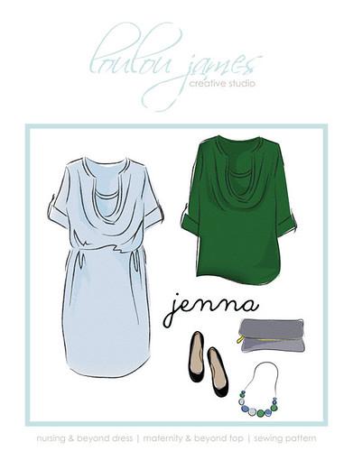 Jenna Nursing Top