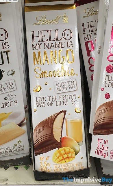Lindt Hello Mango Smoothie