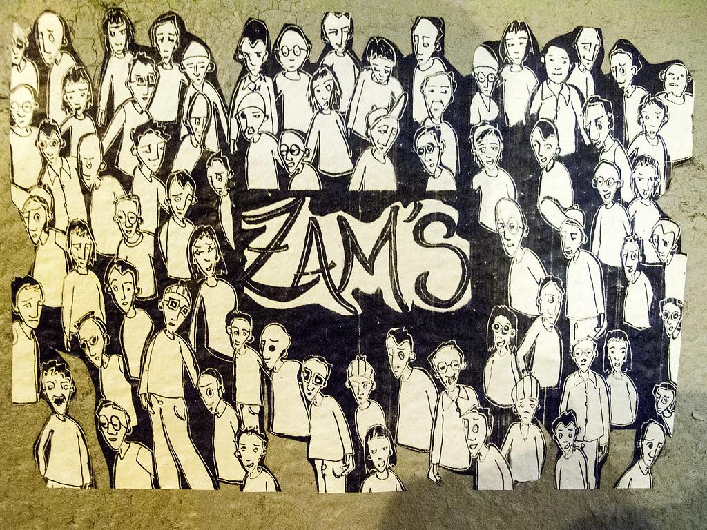 Zam's - Wheatpaste