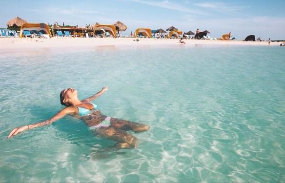 things to do in Aruba off cruise ship, Baby Beach