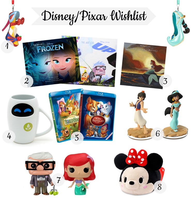 Disney Pixar wishlist