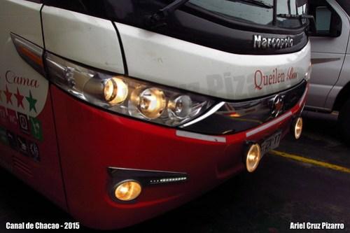Queilen Bus - Canal de Chacao - Marcopolo Paradiso 1800 DD G7 / Mercedes Benz (FXZX17)