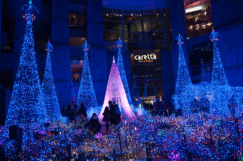 Caretta Shiodome Christmas Illumination