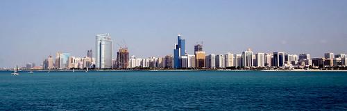 Abu Dhabi coastline