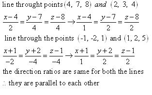 RD Sharma Class 12 Solutions Chapter 27 Direction Cosines and Direction Ratio Ex 27.1 Q7