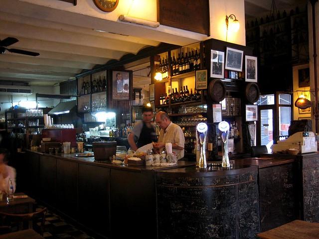 Café Plaza Dorrego.
