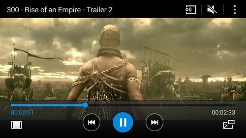 ดูคลิป 1080p บน Samsung Galaxy E5