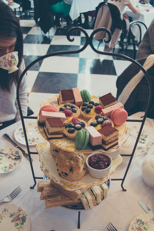 Afternoon Tea Food - London Tea Room St. Louis