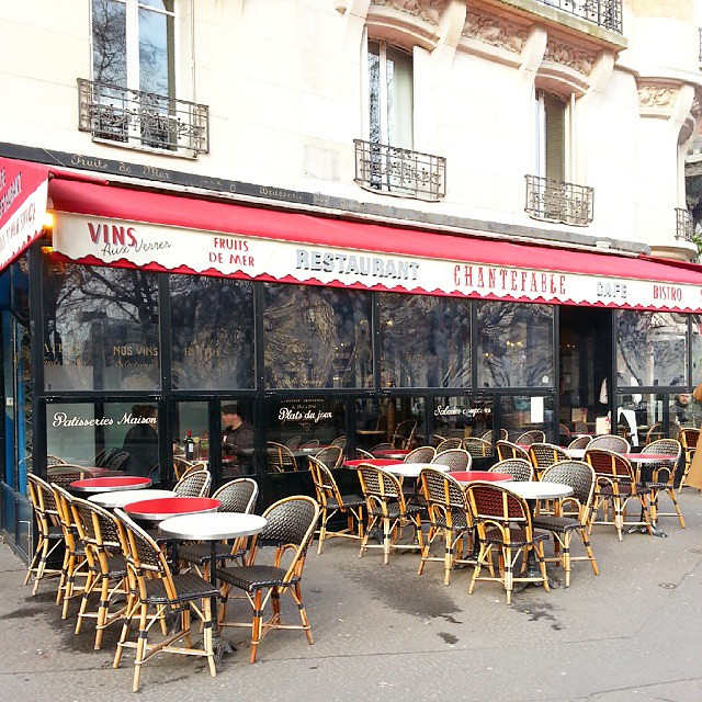 Had a late lunch in the 20th, that was so french and so good! #Paris #bistrot #SundayLunch